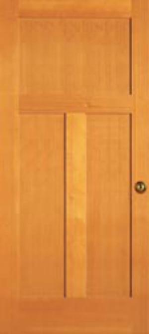 mid century door