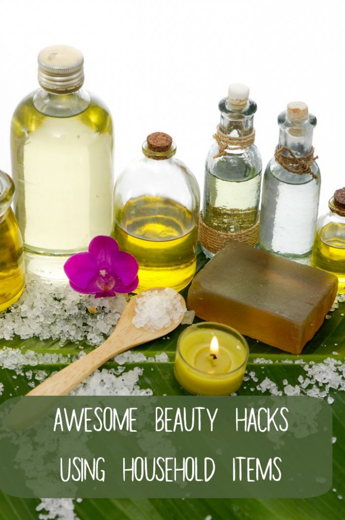 Awesome beauty hacks using household items