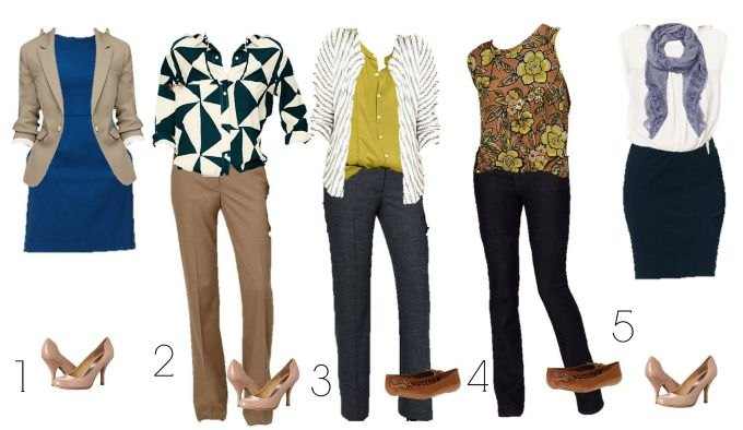 Loft Mix and Match Wardrobe 1-5