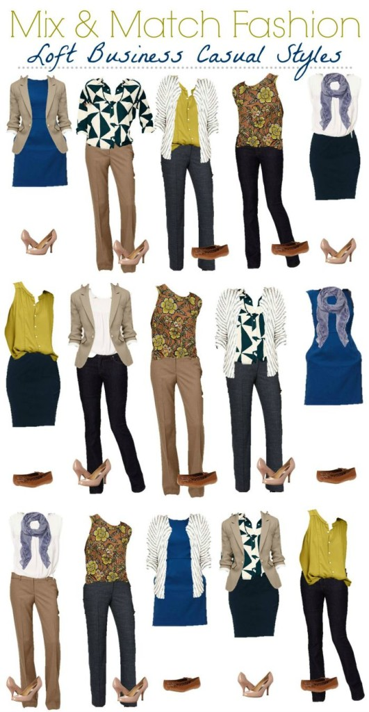 Loft Mix and Match Wardrobe