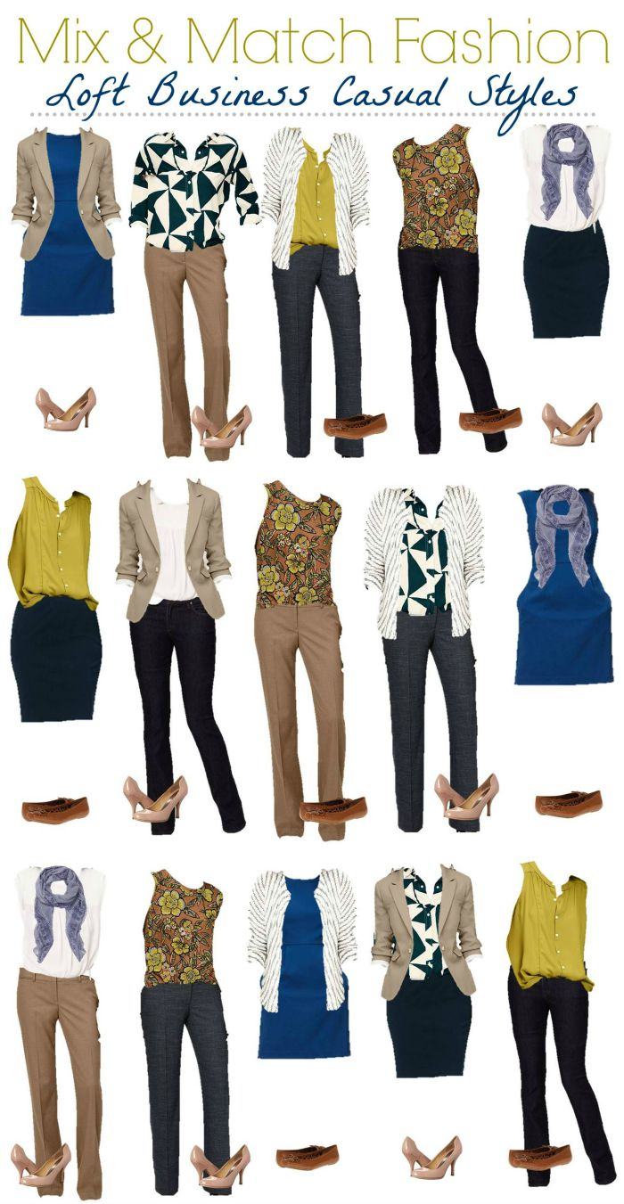 how to create mix and match wardrobe