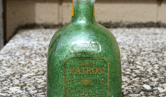 How to Reverse Glitter a Bottle so it Doesn't Shed