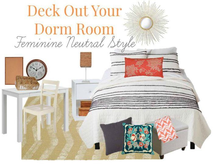 16 Budget Friendly Chic Dorm Room Essentials