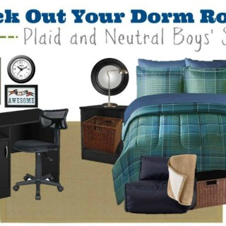 Dorm room essentials for him
