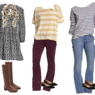 Fall Old Navy mix and match h