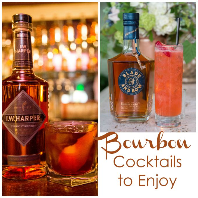 bourbon cocktails to enjoy