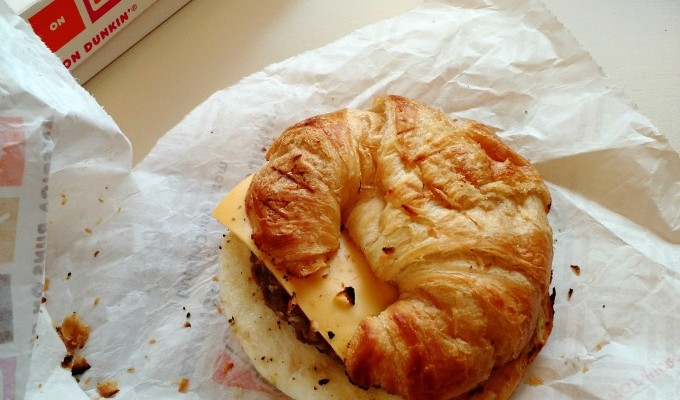 How Far Would You Go For A Dunkin' Donuts Breakfast Sandwich