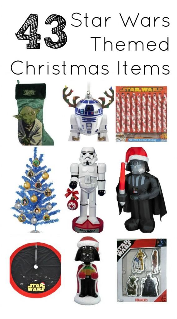 43 Star wars Themed Christmas Items