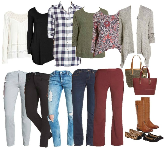 Nordstrom Mix and Match ItEM COLLAGE