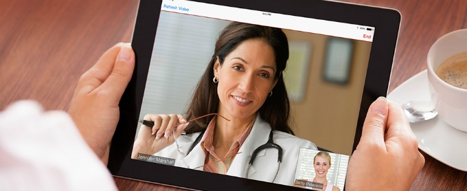See a doctor from home with amwell