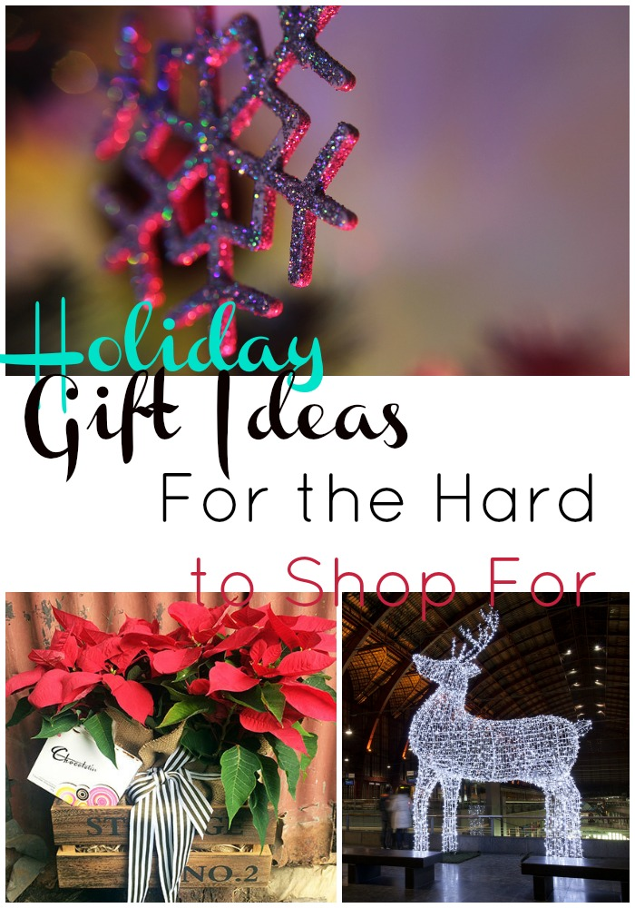 holiday gift ideas for the hard to shop for