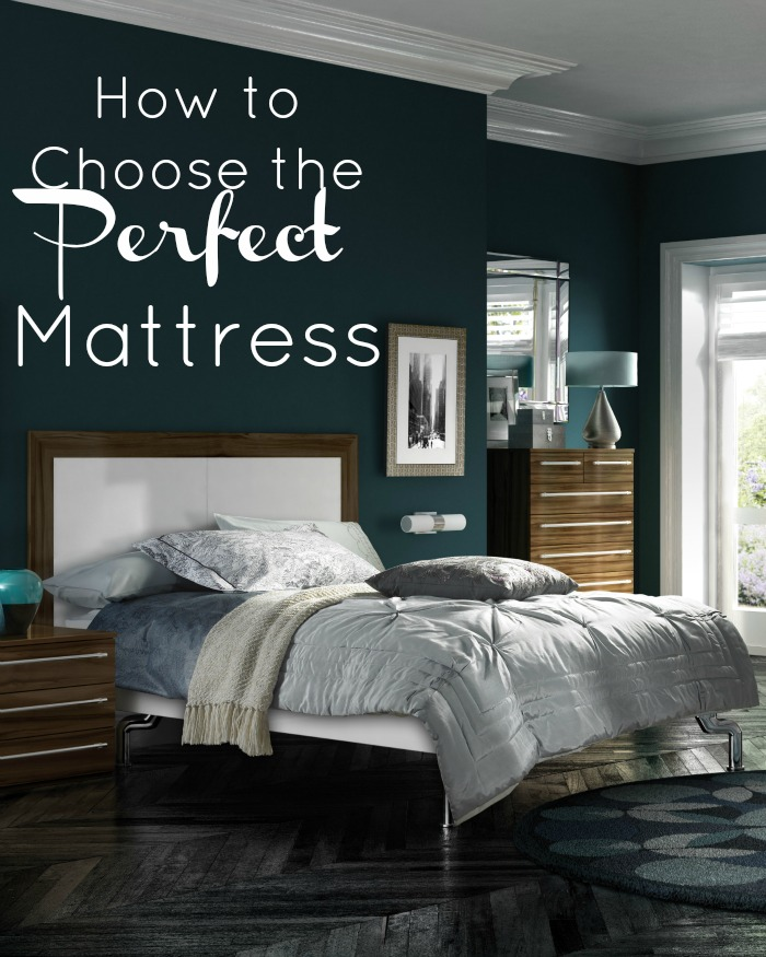 how to choose the perfect mattress for the best sleep