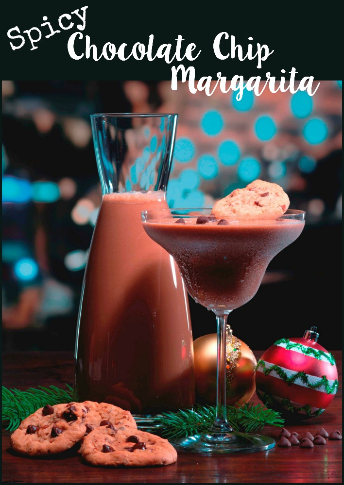 Spicy chocolate chip margarita