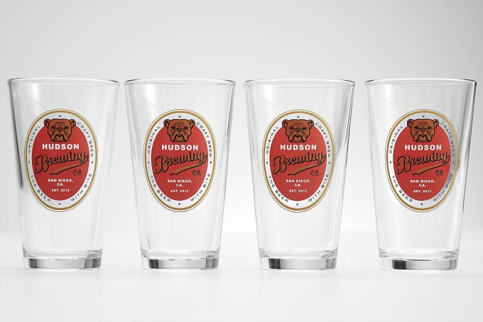 hudson brewing glasses