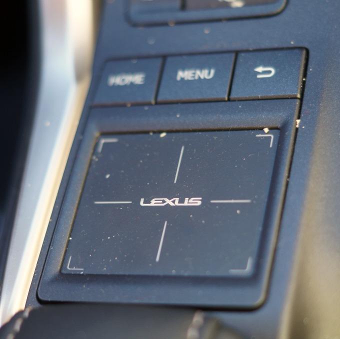 lexus touchpad
