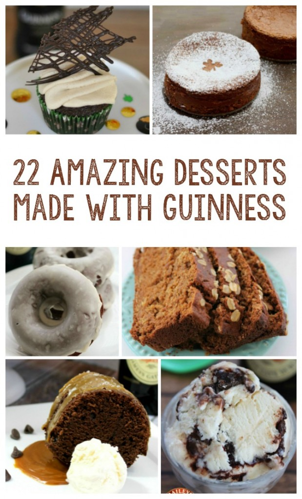 22 Amazing Desserts made with Guinness