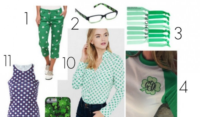 Kitschy Cool Ways to Wear Shamrocks Without Looking Like a Fool