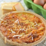 How to Make a Brunch Perfect Bacon Cheddar Quiche