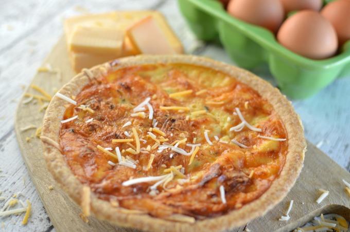 bacon cheddar quiche recipe