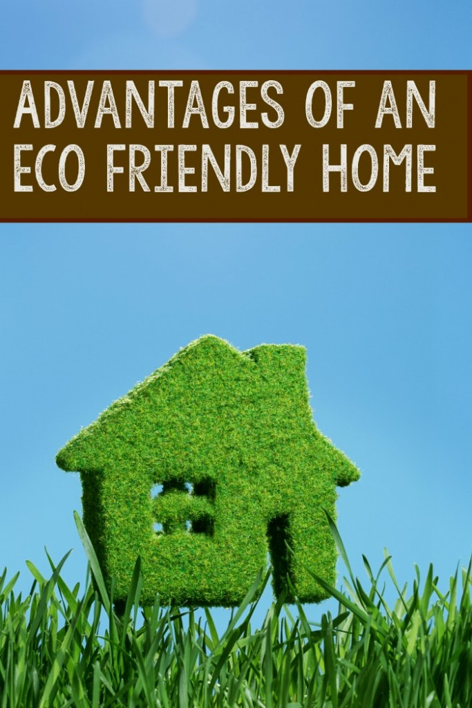 Advantages of having an environmentally friendly house