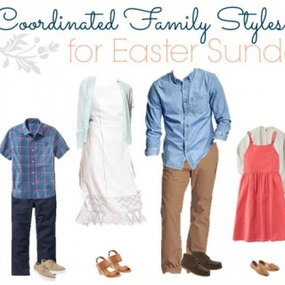 How to Dress the Whole Family for Easter with Old Navy