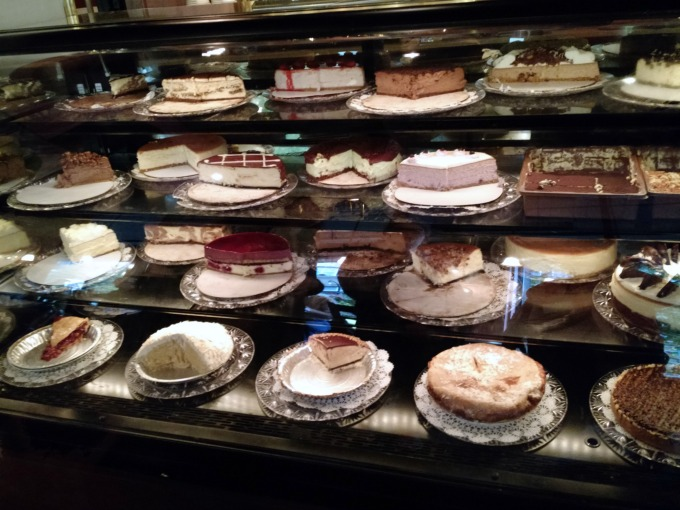 cafe intermezzo display case