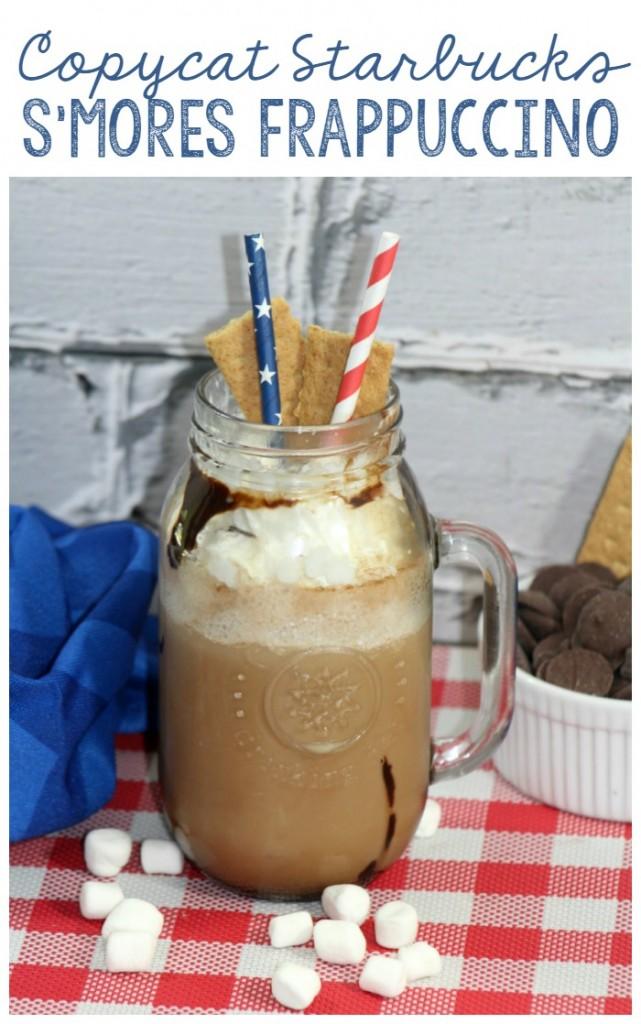 Copycat Starbucks Smores Frappuccino