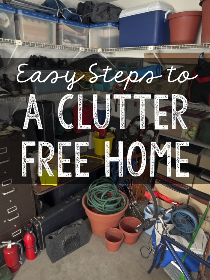 Easy steps to have a clutter free home
