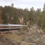 A Trip on the Grand Canyon Railway train