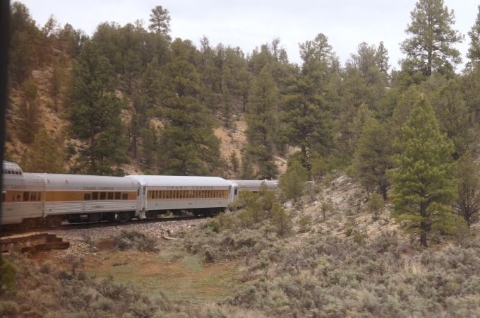 Grand Canyon Railway train