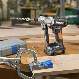 Worx Tools 2 in 1 Switchdriver Cordless Drill Giveaway