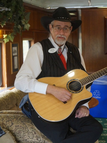 grand canyon railway singing cowboy