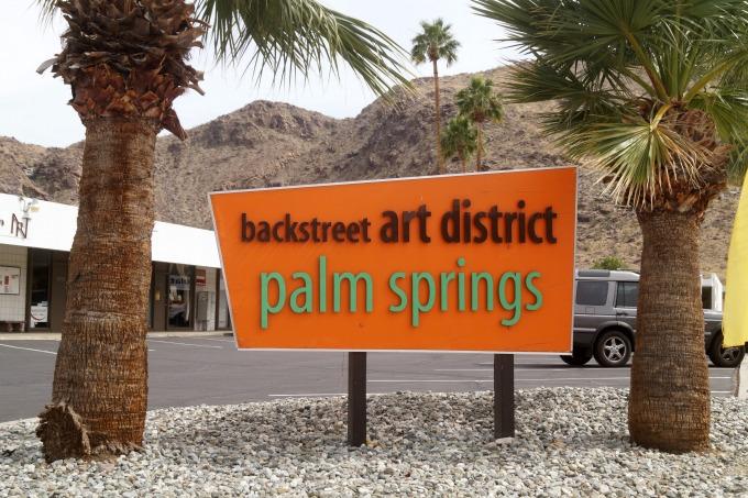 Palm Springs Backsteet Art District