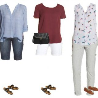 Nordstrom Summer Mix and Match Wardrobe