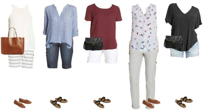 Nordstrom Mix and Match Wardrobe - 6-10