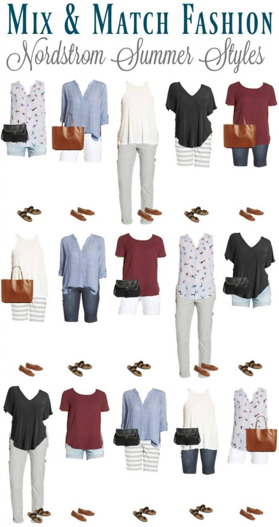 Nordstrom Summer Mix & Match Fashion