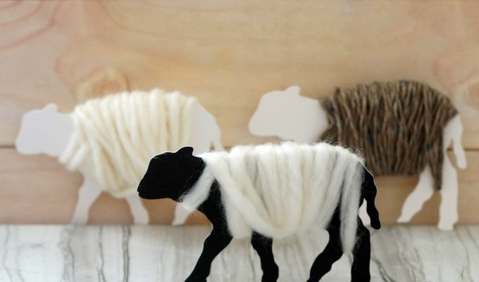 How to Make Fluffy Sheep Ornaments Everyone Will Love