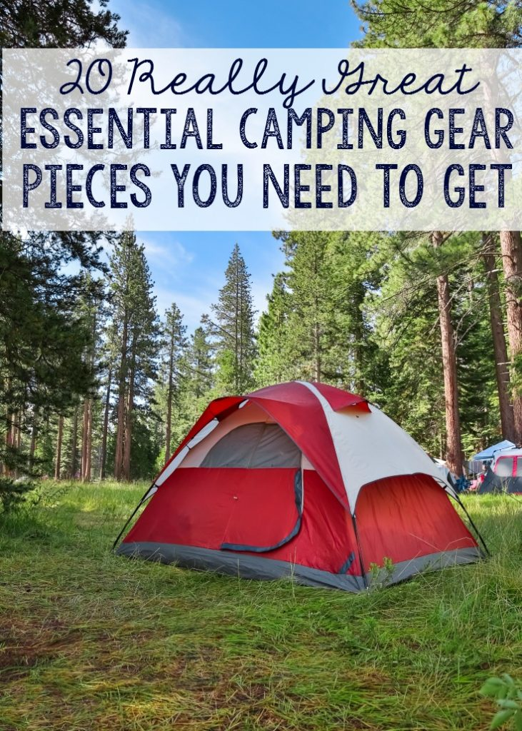 Really great camping gear pieces that are essential to a good time.