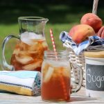Celebrate Summer with this Iced Sweet Peach Tea Recipe