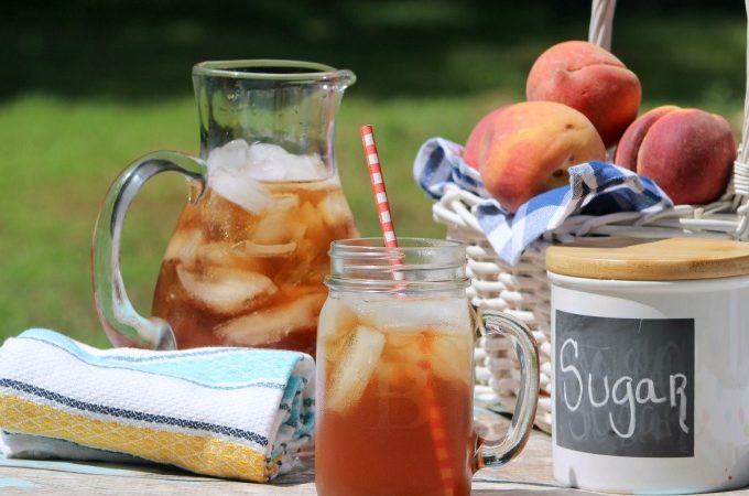 Iced Sweet Peach Tea Recipe