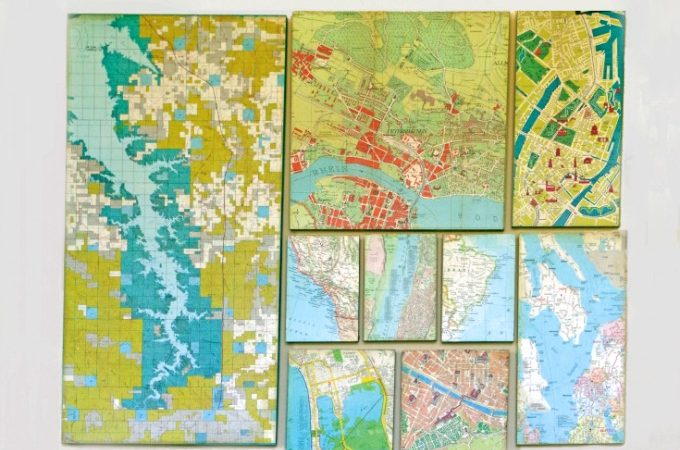 How to create a wall map gallery