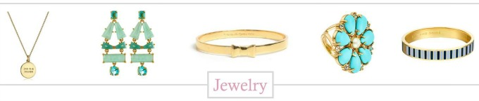 Kate Spade Jewelry Finds under $150