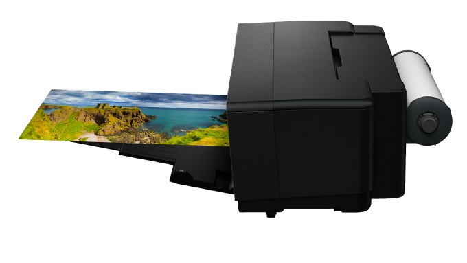Epson Surecolor P400 Printing panoramic photos