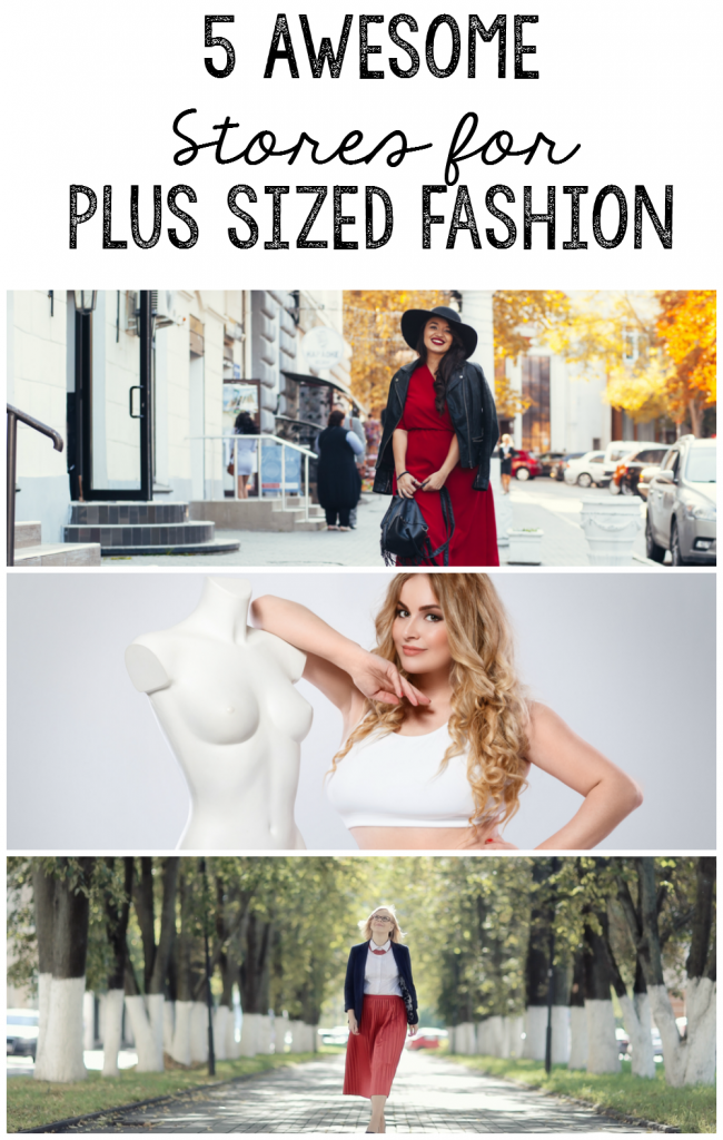 5 stores wth great plus sized fashion selections you may not know about.