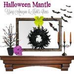 Haunt Your House with this Spooky DIY Halloween Mantel Decor Idea