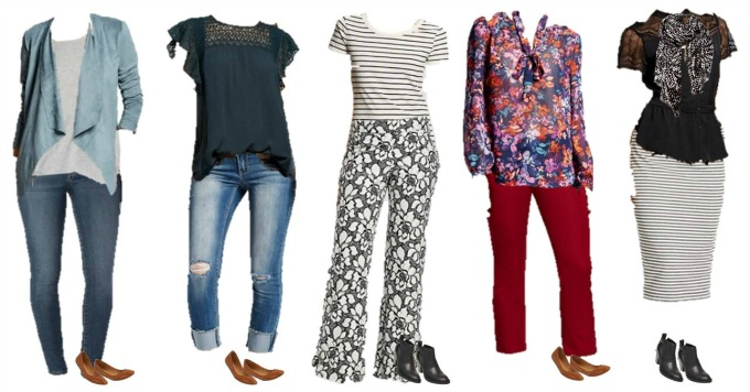 Target Mix and Match Wardrobe for Fall
