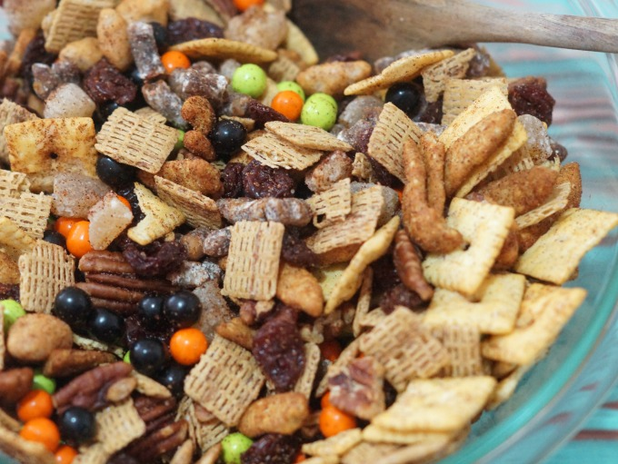 Spiced Harvest trail mix