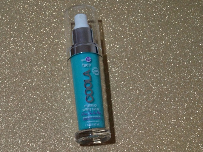 Don't let your makeup run! Use this Coola setting spray to help it stay in place.
