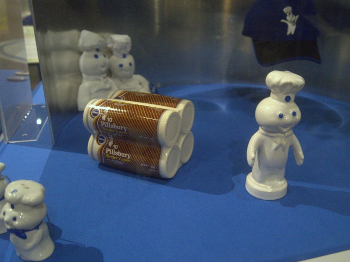 Pillsbury display at the Mill City Museum in Minneapolis, MN