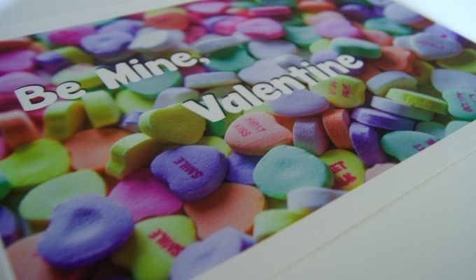 How to Create a Be Mine Valentine Printable + a Free Printable